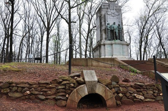 Kennesaw Mountain National Battlefield Park: Battle of Cheatham Hill Illinois Regiment Monument