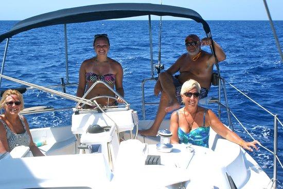 Roatan Sailing with Captain Alex: Enjoying Sailing