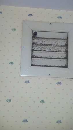 Days Inn Blairsville : Vent in bathroom that was never cleaned
