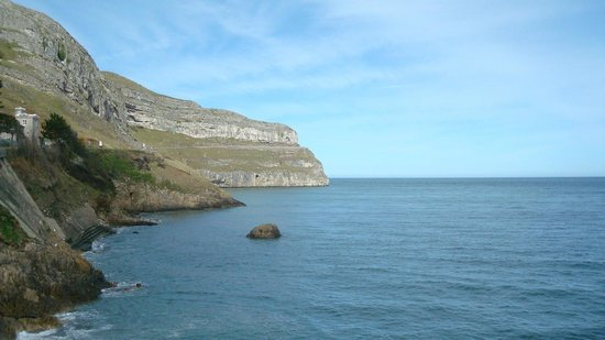 Great Orme: View of the Marine Drive from the Happy Valley road