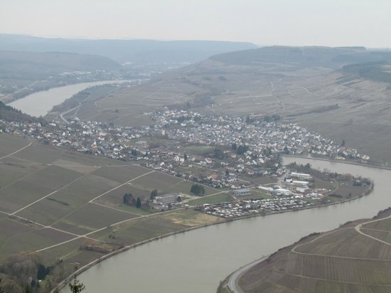 Landal Sonnenberg: view after climbing the tower during the sunday morning walk