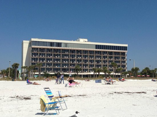 Holiday Inn Sarasota Lido Beach View Of Hotel From