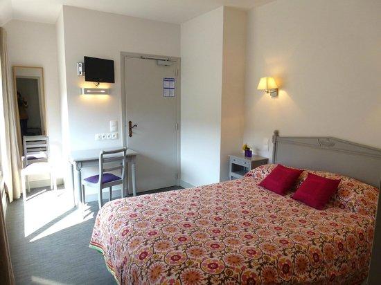 Hotel de Biencourt: chambre double terrasse
