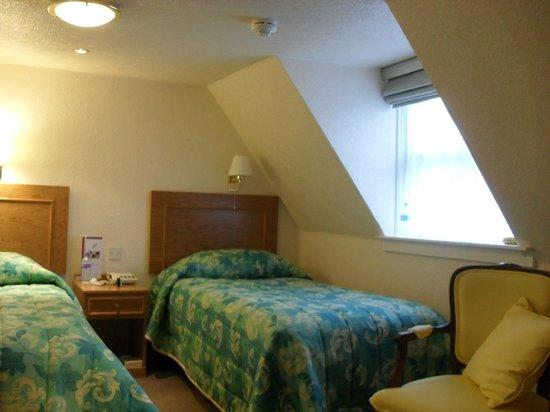 Royal York & Faulkner Hotel: Low but not cramped
