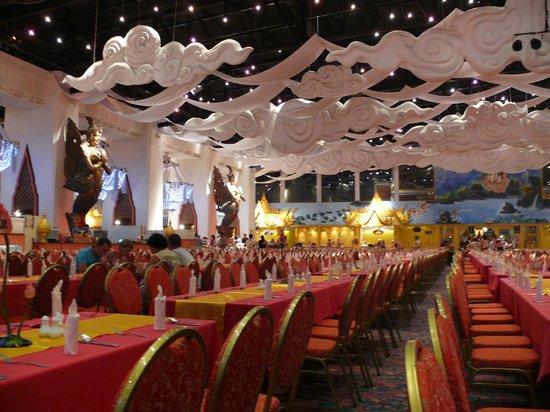 Phuket FantaSea: one of the dinning rooms