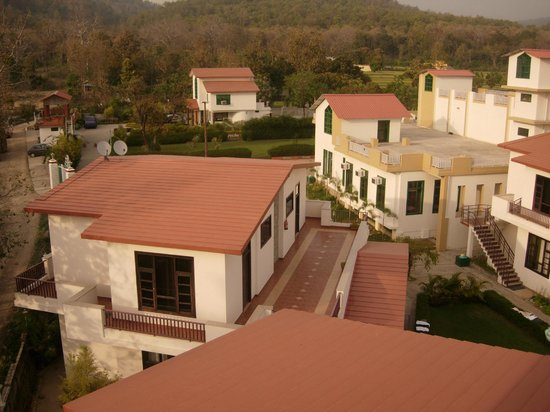 The Tiger Groove Corbett Resort: View from machaan