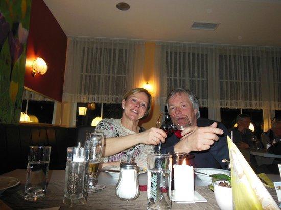 Hotel Rhöner Land: god middag i restaurangen