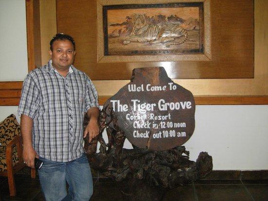 The Tiger Groove Corbett Resort: Reception