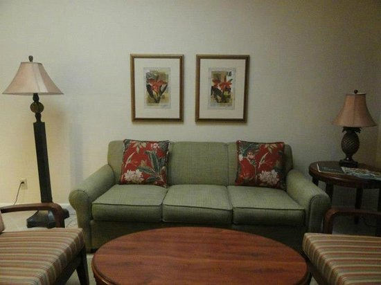 Sheraton Vistana Resort Villas- Lake Buena Vista : Living area