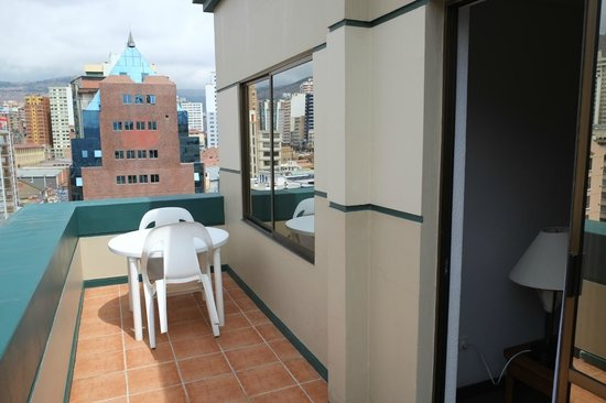 Camino Real Aparthotel & Spa: Balcony of the room