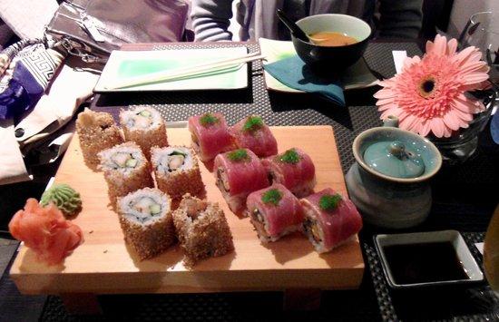 Kyoto: Sushi & Miso Soup