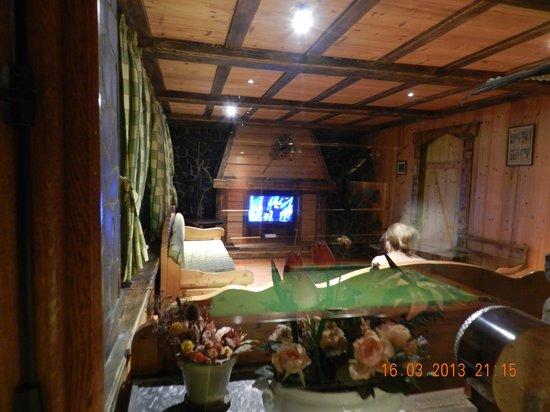 Hotel Le Concorde: salle tv