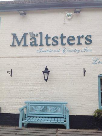 Maltsters Pub & Restaurant: outside refurb