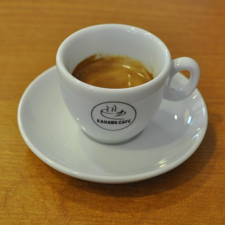Kahawa Cafe: My espresso was excellent