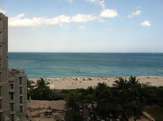 Courtyard Cadillac Miami Beach/Oceanfront: View from our room