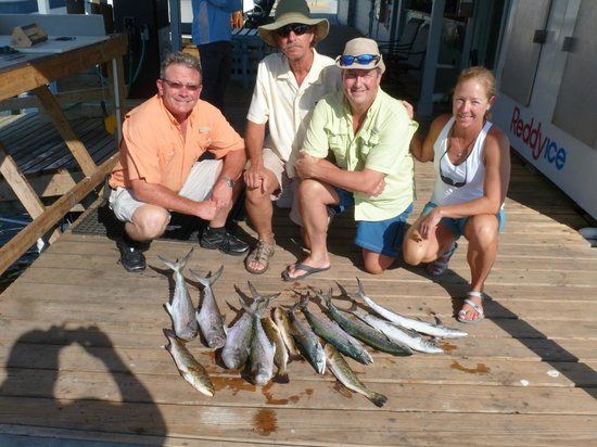 Steady Action Fishing Charters: Oct 2012 Trip