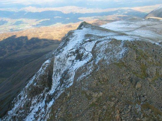 Cader Idris: From the air