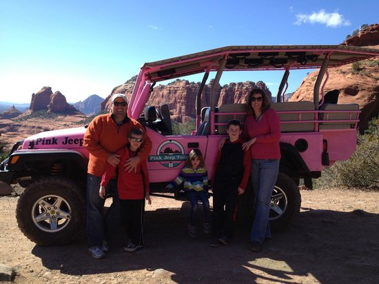 Pink Jeep Tours Red Rocks Of Sedona Picture Of Pink Jeep