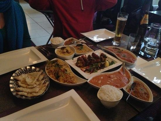 indie spice grill: Lunch Feast