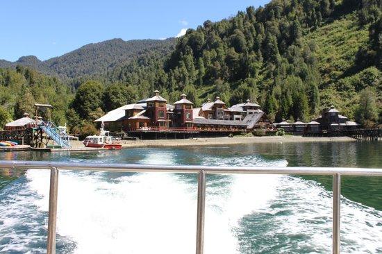 Puyuhuapi Lodge & Spa: o hotel