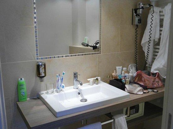Hotel Doisy: bagno