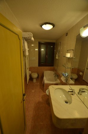 Hotel La Fenice Et Des Artistes: bathroom - well equipped