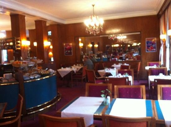Eden Hotel Geneva : breakfast room