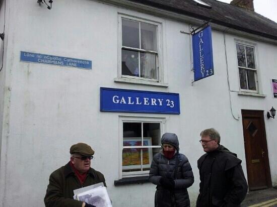 Kinsale Heritage Walks: Dermot at Chairman's Lane