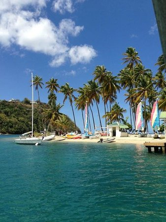 Villa Pomme d'Amour: Marigot Bay