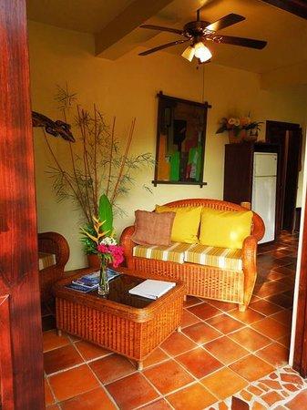 Villa Pomme d'Amour: Living space