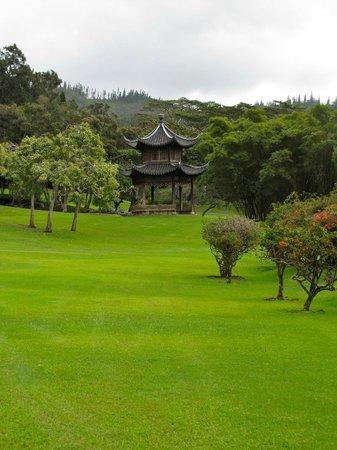 فور سيزونز ريزورت لاناي ذا لودج آت كويل: Beautiful pagoda