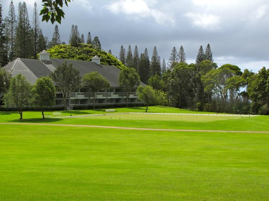 Four Seasons Resort Lana'i, The Lodge at Koele: Lawn Bowling at the Lodge