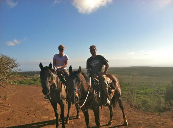 Four Seasons Resort Lana'i, The Lodge at Koele : Afternoon trail ride