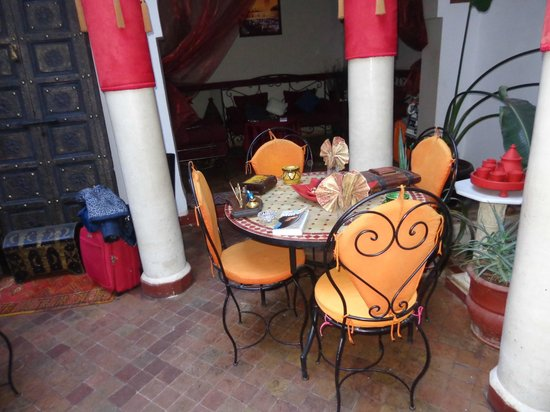 Riad Minorisa: suggestivo cortile