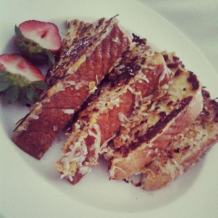 Sheraton Puerto Rico Hotel & Casino: Coconut French Toast = YUM!