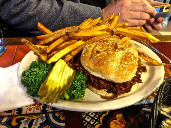 Westside Lilo's Cafe: Buffalo Burger