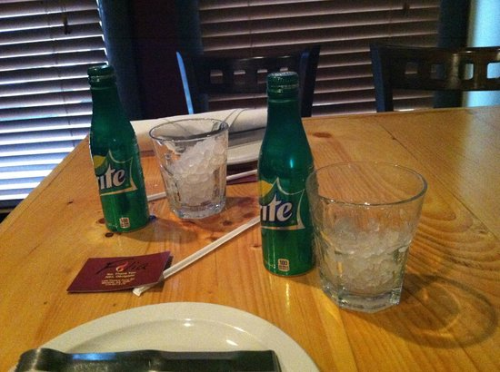Folia Brazilian Steakhouse: This is the soda they have available and NO FREE REFILLS