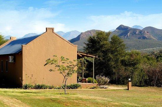 Thabile Lodge: Wunderbarer Blick auf die Berge