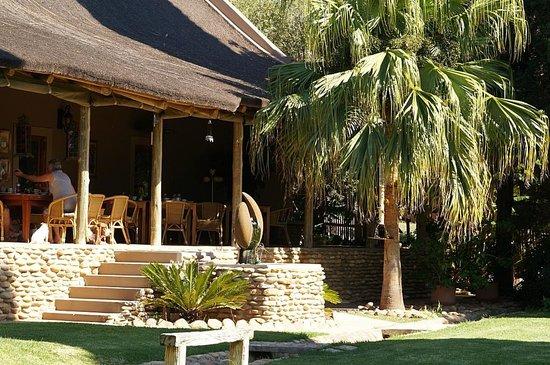 Thabile Lodge: Blick auf die Veranda