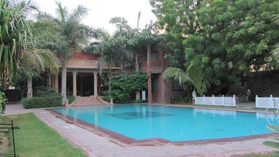 pool im garten - picture of ranbanka palace, jodhpur - tripadvisor, Garten und erstellen