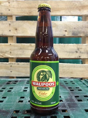 County Cider Company & Estate Winery: Waupoos Draft Cider