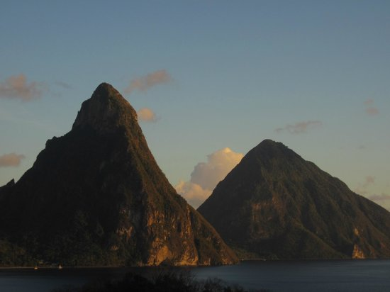 Anse Chastanet: Pitons