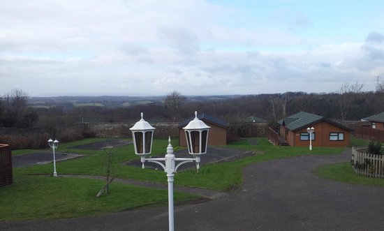 Crowhurst Park: View from Lodge
