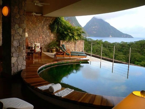 Jade Mountain Resort: Very lovely afternoons...