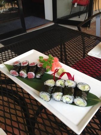 Komoon Thai Sushi & Ceviche: Tekka Maki and Kappa Maki