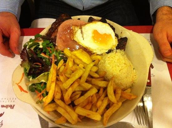 Boulogne-Billancourt, France: steak
