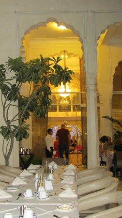 Mandawa Haveli Jaipur: zum restaurant