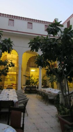 Mandawa Haveli Jaipur: Abendstimmung
