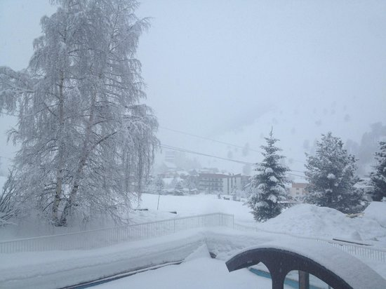 Chalet Hotel Berangere : view from room