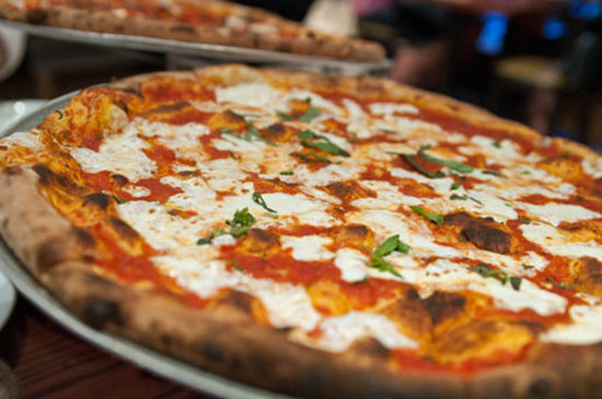 Pi Brick Oven Trattoria: The Margherita